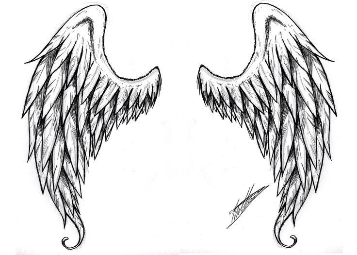 Drawn angel big wing Images Angel on Pinterest 14
