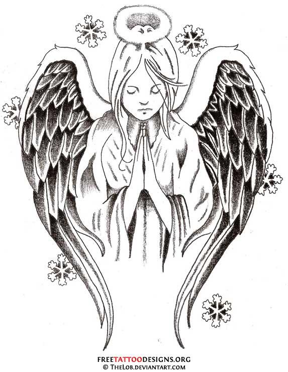 Dark Angel clipart guardian angel Guardian Angel Tattoos Angel Designs