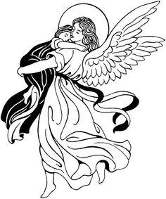 Dark Angel clipart guardian angel Guardian angel Dark Angel coloring