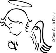 Angel clipart heaven drawing Illustration Heaven 40  Art