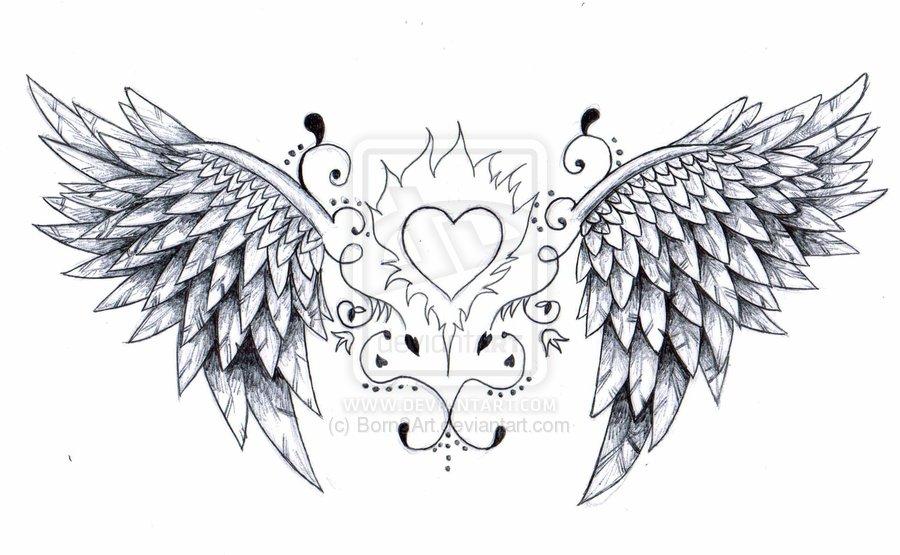 Drawn angel big wing #Wings wings 105  cutcaster