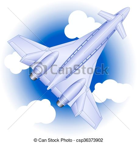 Dark Blue clipart airplane Of future future Clipart blue