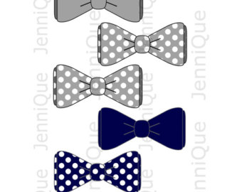 Dark Blue clipart bow tie Bow Decoration Printable Tie Baby