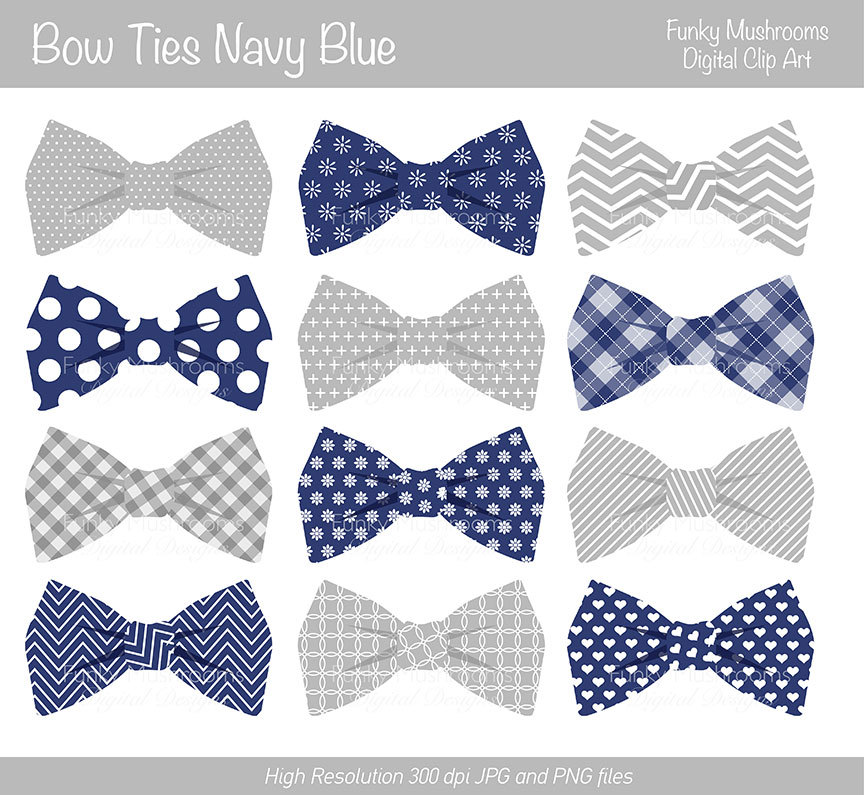 Dark Blue clipart bow tie Art com Digital Discoveries from