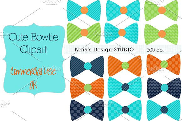 Dark Blue clipart bow tie Art Bowtie Green tie Templates