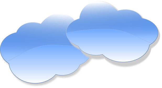 Clouds clipart dark blue Clipart on Clip  Free
