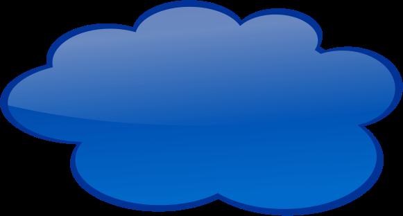 Clouds clipart dark blue Bubbles Clipart com Callouts Color