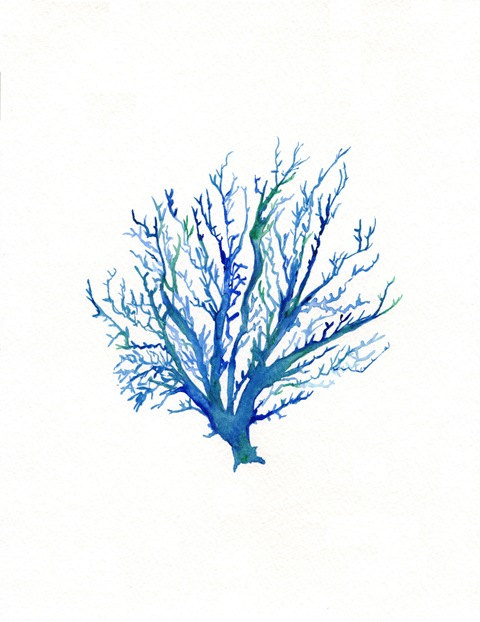 Dark Blue clipart coral Coral painting Coral art No
