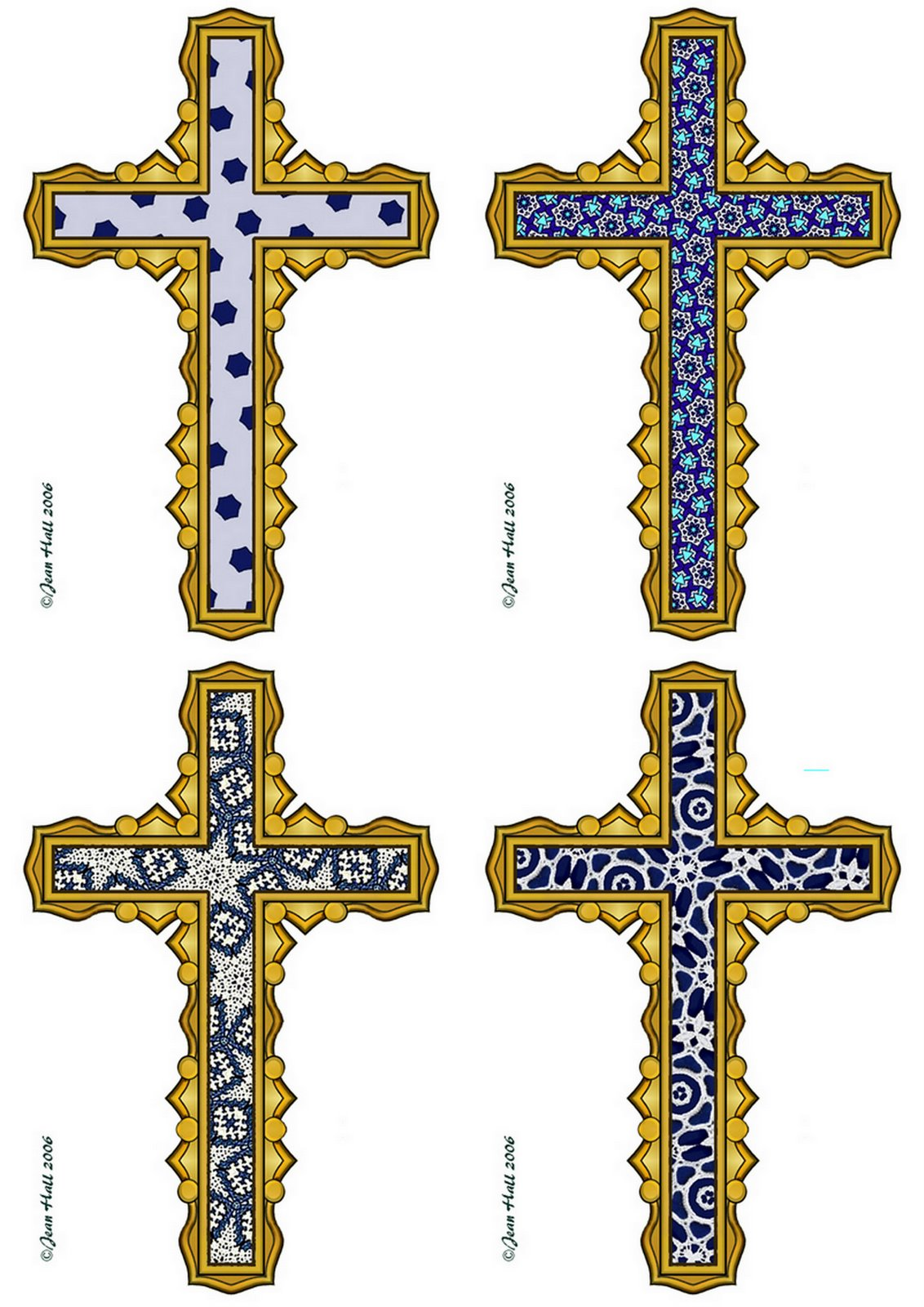 Dark Blue clipart cross Cross Picture Clipart cross Collection