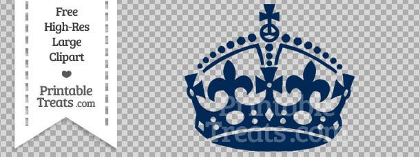 Dark Blue clipart crown Treats Calm com Navy Crown