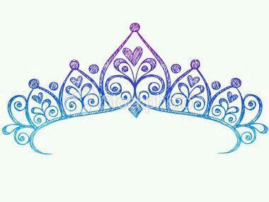 Dark Blue clipart crown Light purple  blue Princess