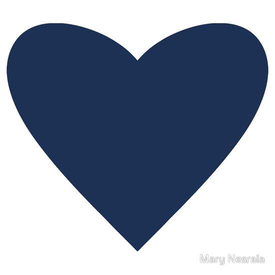 Hearts clipart navy Navy collection heart clipart Heart