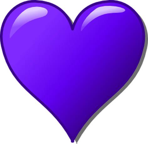 Blue clipart love heart Panda purple%20heart%20clip%20art Purple Heart Free
