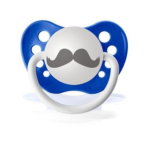 Dark Blue clipart mustache Mustache Barber Pacifier Dark