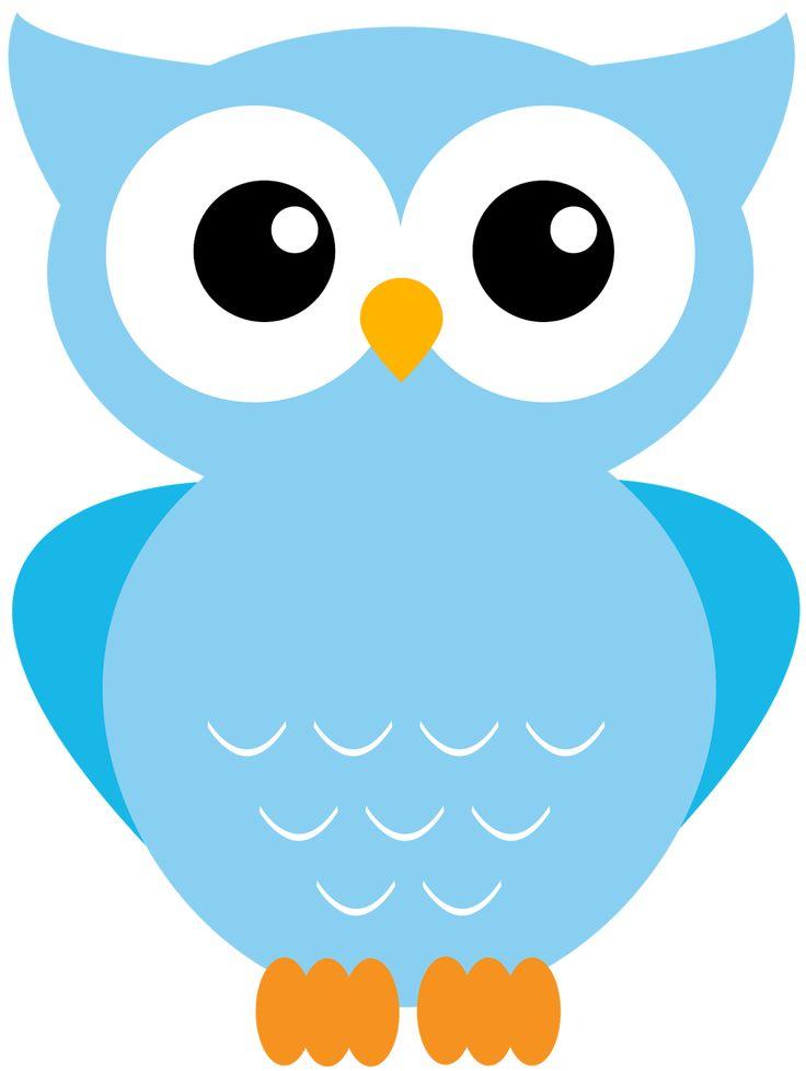 Light Blue clipart owl Best Owl Clip 12 Printables!