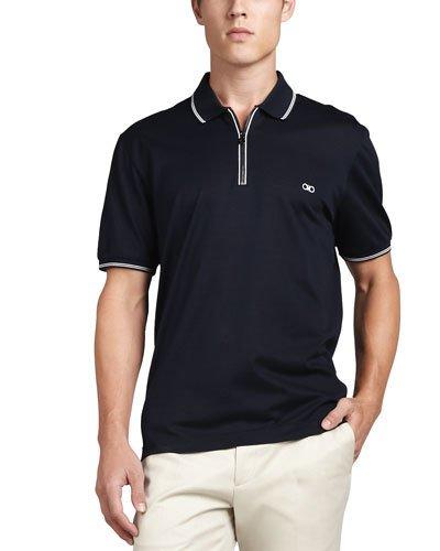 Dark Blue clipart polo shirt Apparel Coats Marcus Shirts Zip