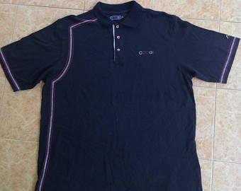 Dark Blue clipart polo shirt Etsy Coogi Vintage Sale Vintage