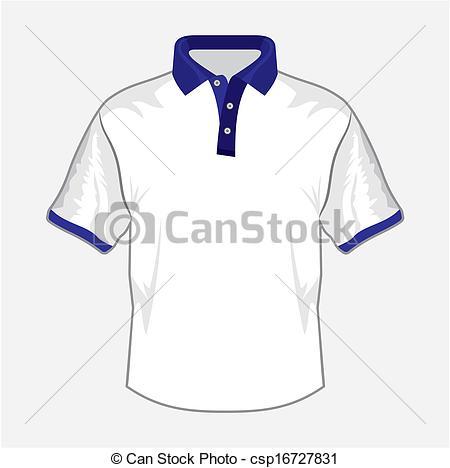 Dark Blue clipart polo shirt Design collar dark polo White