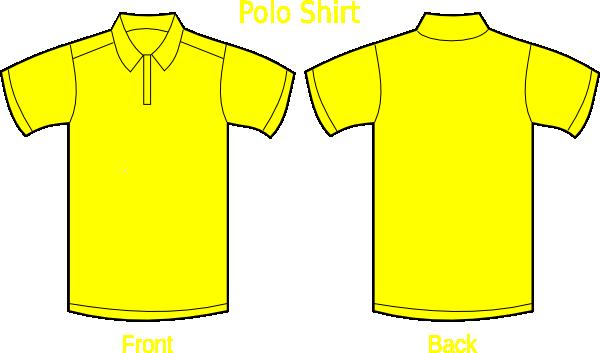 Dark Blue clipart polo shirt Yellow Polo Shirt Polo Yellow