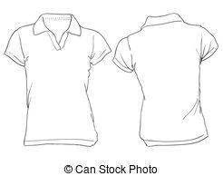 Dark Blue clipart polo shirt Blue  Polo design Women's