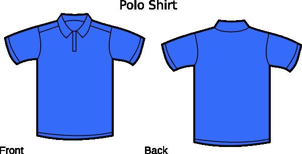 Dark Blue clipart polo shirt Clip online image Clker Download