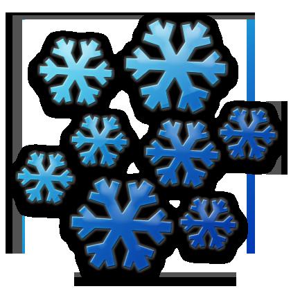 Dark Blue clipart snowflake (Snowflakes) Snowflake Icon Etc Cluster