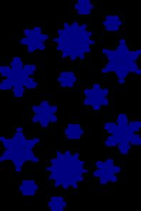 Dark Blue clipart snowflake Snowflake Blue Clipart  blank