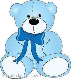 Dark Blue clipart teddy bear Art Clip Bear Pinterest e