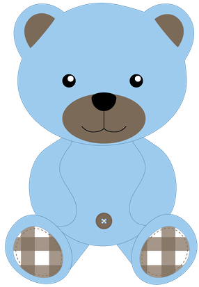 Dark Blue clipart teddy bear Clip art Pinterest Minus Art