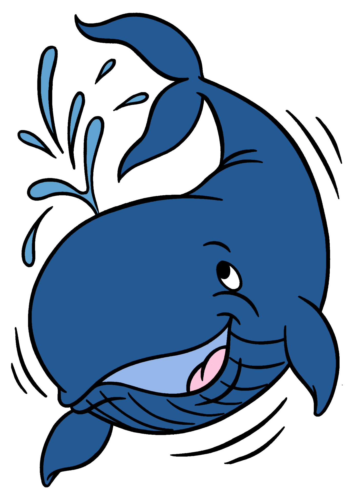 Sharkwhale clipart big #1