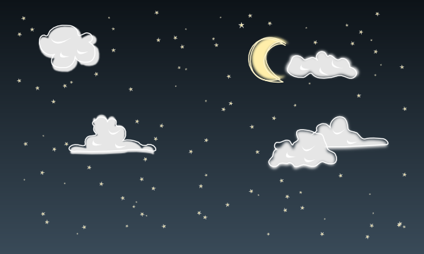 Night Sky clipart afternoon #8