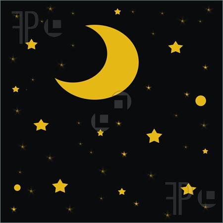 Night Sky clipart dark night #9