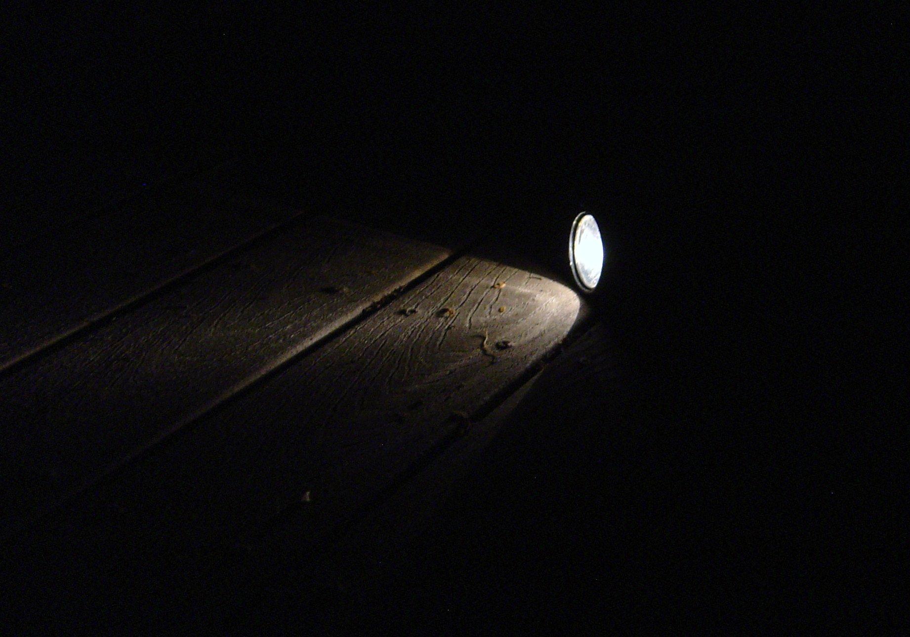 Free Domain Darkness in Flashlight