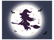 Witchcraft clipart halloween full moon In Front Clipart Fullmoon Halloween
