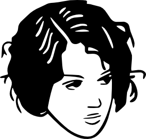 Hair clipart black and white Online Bad Hair Hair Fen