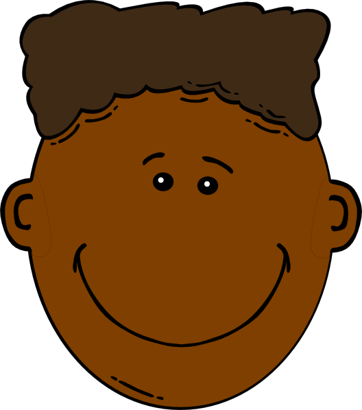 Sad clipart black boy #3