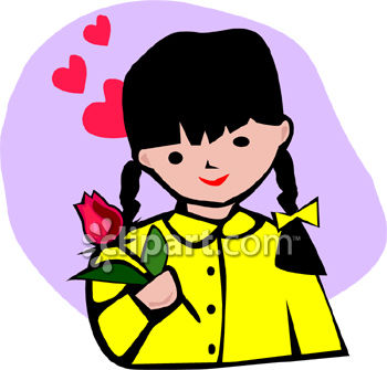 Dark Hair clipart aunt Clipart Clipart Images Little Girl
