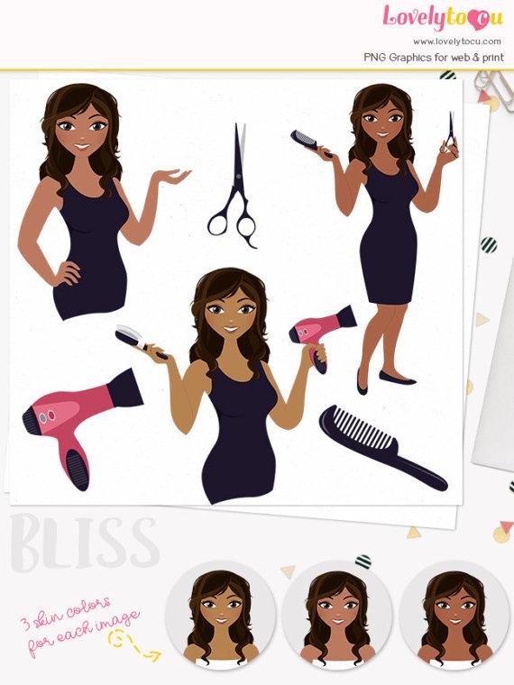 Dark Hair clipart beauty product #5