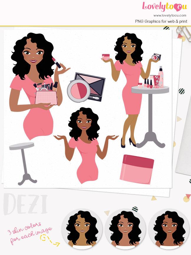 Dark Hair clipart beauty product #9