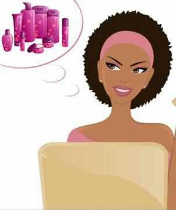 Dark Hair clipart beauty product #12