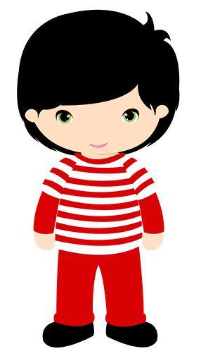Dark Hair clipart child #9