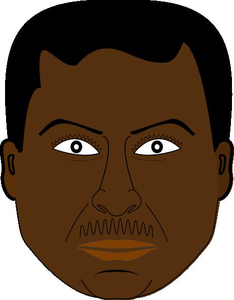 Dark Hair clipart guy Clipart Black man black Clipground