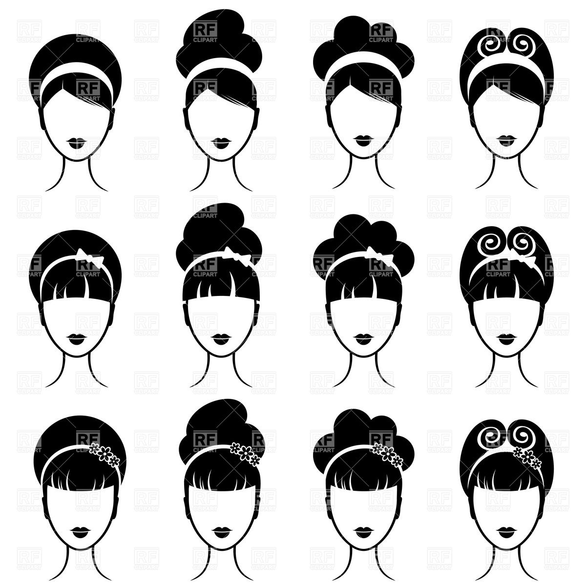 Photos clipart hairstyle #8