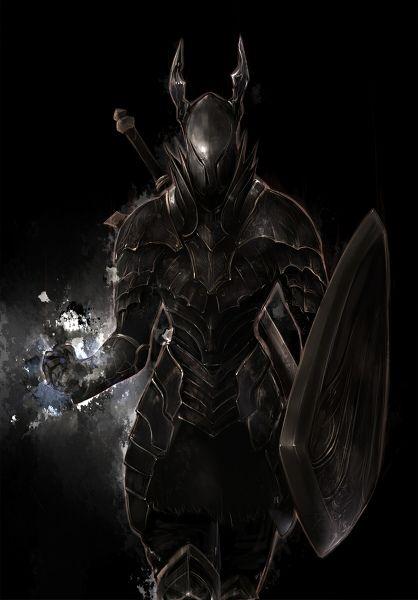 Dark Souls clipart black and white #12
