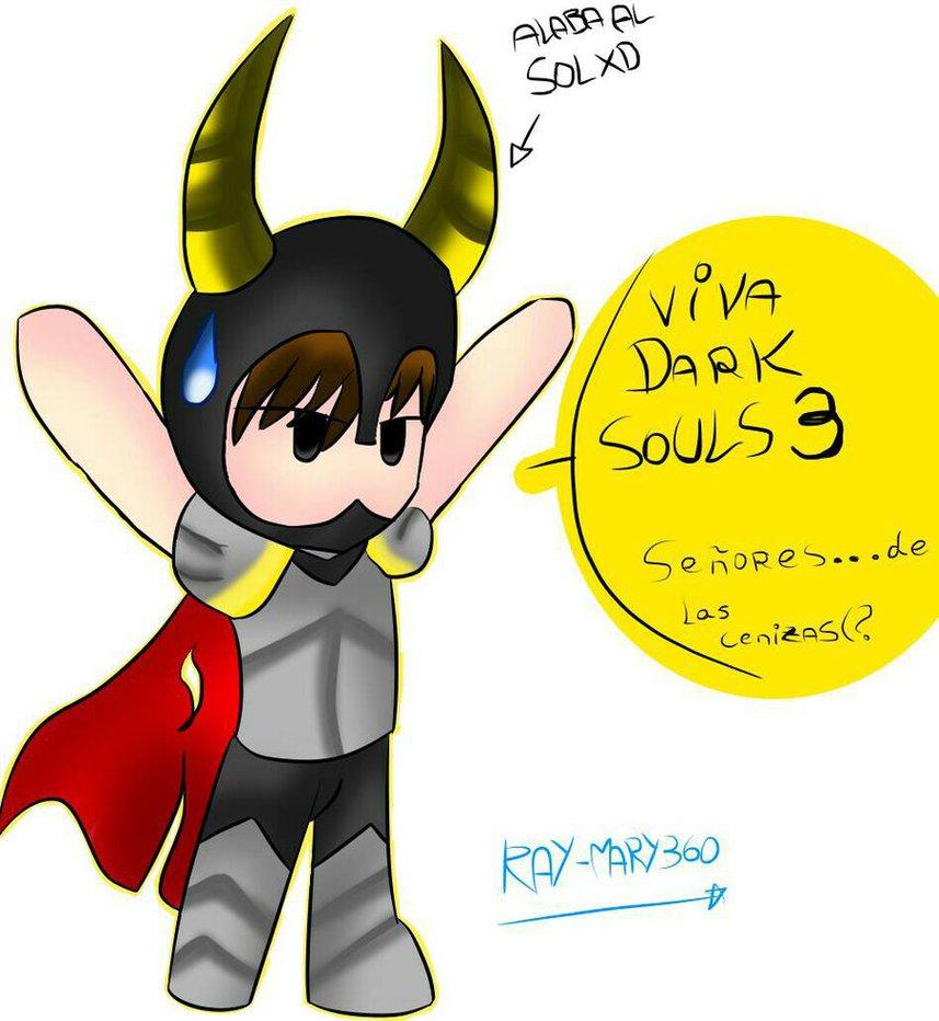 Dark Souls clipart chibi Dark DeviantArt Ray Dark 3