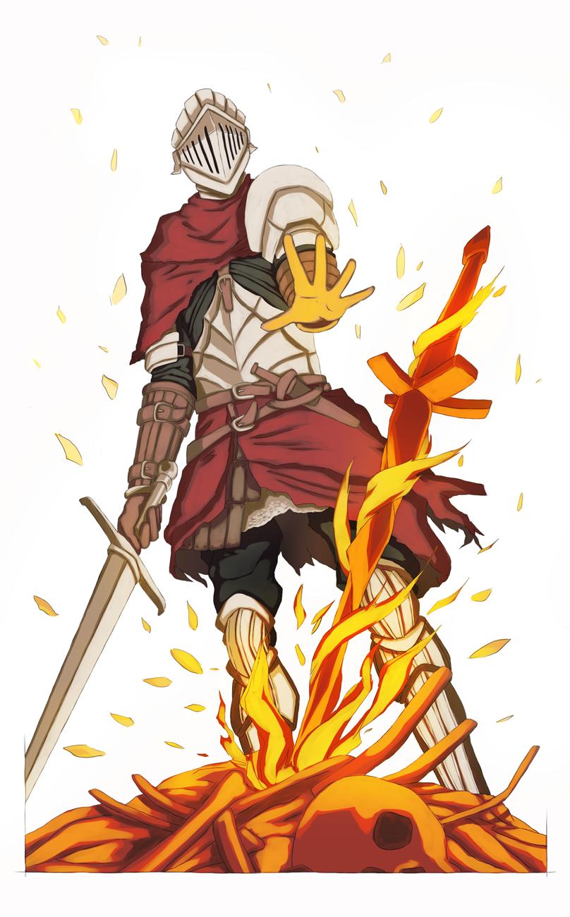 Dark Souls clipart dark souls bonfire 2  demon Pinterest Souls