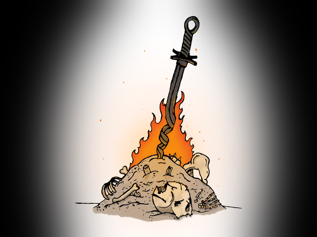 Dark Souls clipart dark souls bonfire 14 DeviantArt on favourites IKnowYouLoveFall