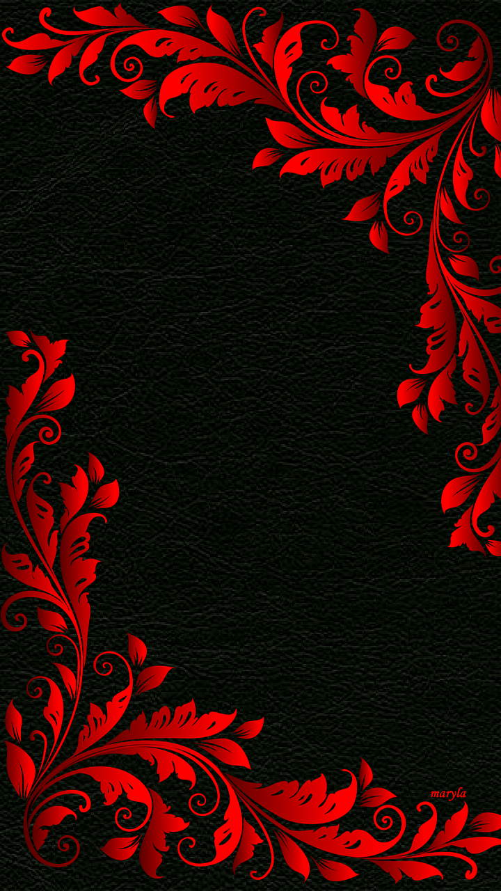 Red Flower clipart abstract #8
