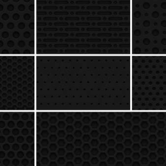 """Dark Textures clipart grid Seamless """"Dark Patterns Metal """"Dark"""