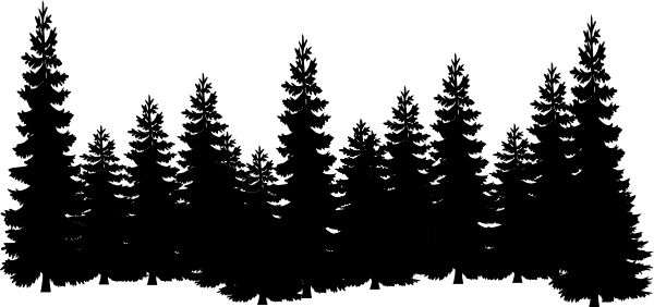 Pine Tree clipart forest scene Forest 10 Top Image Art